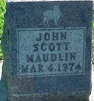 MAUDLIN, JOHN SCOTT - Ringgold County, Iowa | JOHN SCOTT MAUDLIN
