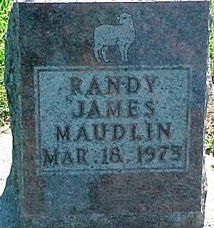 MAUDLIN, RANDY JAMES - Ringgold County, Iowa | RANDY JAMES MAUDLIN
