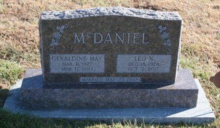 MCDANIEL, LEO - Ringgold County, Iowa   LEO MCDANIEL