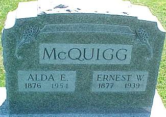 MCQUIGG, ALDA E. - Ringgold County, Iowa | ALDA E. MCQUIGG