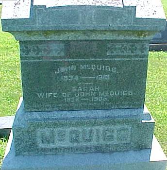 MCQUIGG, JOHN - Ringgold County, Iowa | JOHN MCQUIGG