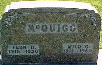 MCQUIGG, MILO G. - Ringgold County, Iowa | MILO G. MCQUIGG