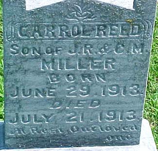 MILLER, CARROL REED - Ringgold County, Iowa | CARROL REED MILLER