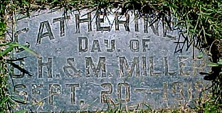 MILLER, CATHERINE L. - Ringgold County, Iowa   CATHERINE L. MILLER
