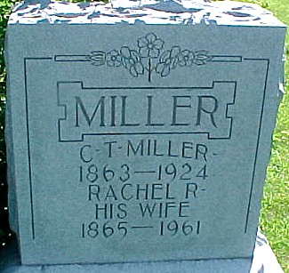 MILLER, C. T. [CHARLES THOMPSON] - Ringgold County, Iowa | C. T. [CHARLES THOMPSON] MILLER