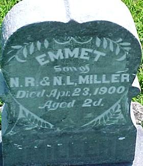 MILLER, EMMET - Ringgold County, Iowa   EMMET MILLER