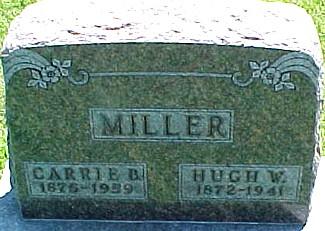 MILLER, HUGH WALTER - Ringgold County, Iowa | HUGH WALTER MILLER