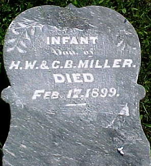 MILLER, INFANT DAUGHTER - Ringgold County, Iowa | INFANT DAUGHTER MILLER