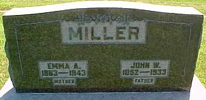 MILLER, EMELINE ALFRETTA