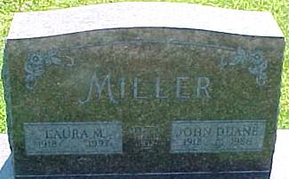 MILLER, JOHN DUANE - Ringgold County, Iowa | JOHN DUANE MILLER