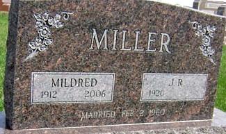 MILLER, MILDRED (MORSE) - Ringgold County, Iowa   MILDRED (MORSE) MILLER