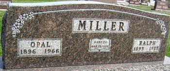 MILLER, OPAL - Ringgold County, Iowa | OPAL MILLER