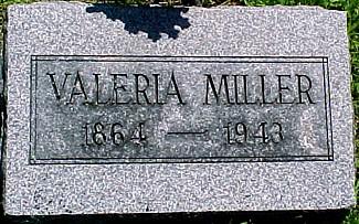MILLER, VALERIA - Ringgold County, Iowa | VALERIA MILLER