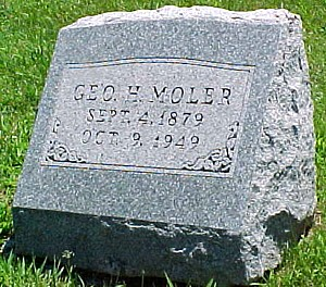 MOLER, GEORGE H. - Ringgold County, Iowa | GEORGE H. MOLER
