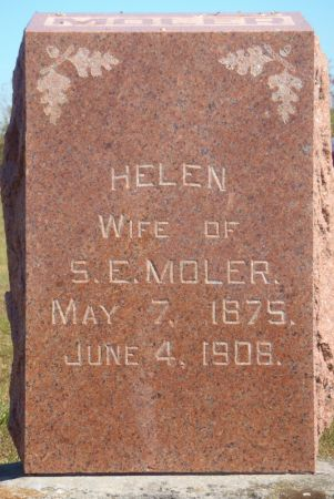 MOLER, HELEN - Ringgold County, Iowa | HELEN MOLER