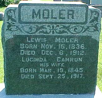 CAMRON MOLER, LUCINDA - Ringgold County, Iowa | LUCINDA CAMRON MOLER
