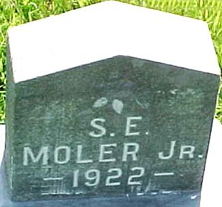 MOLER, S. E., JR. - Ringgold County, Iowa | S. E., JR. MOLER