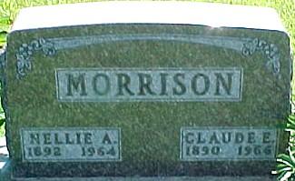 MORRISON, NELLIE A. - Ringgold County, Iowa | NELLIE A. MORRISON