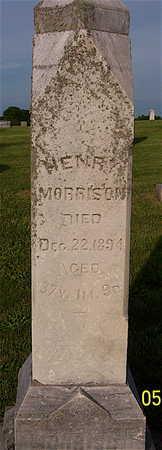 MORRISON, JAMES HENRY - Ringgold County, Iowa   JAMES HENRY MORRISON