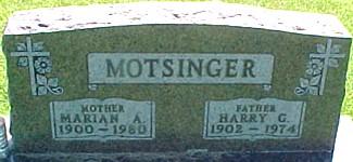 MOTSINGER, HARRY G. - Ringgold County, Iowa | HARRY G. MOTSINGER