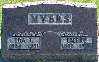 MYERS, IDA L. - Ringgold County, Iowa | IDA L. MYERS