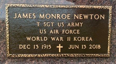 NEWTON, JAMES MONROE - Ringgold County, Iowa | JAMES MONROE NEWTON