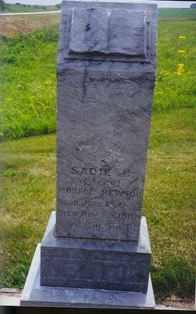 SMITH NEWTON, SADIE B - Ringgold County, Iowa | SADIE B SMITH NEWTON