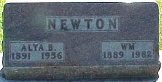 NEWTON, WILLIAM - Ringgold County, Iowa | WILLIAM NEWTON