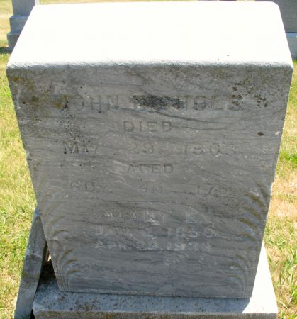 NICHOLS, MARY E. - Ringgold County, Iowa   MARY E. NICHOLS
