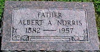 NORRIS, ALBERT ARTHUR - Ringgold County, Iowa | ALBERT ARTHUR NORRIS