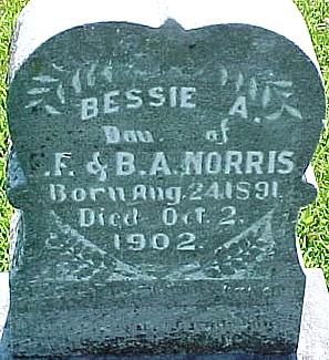 NORRIS, BESSIE A. - Ringgold County, Iowa | BESSIE A. NORRIS