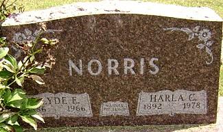 NORRIS, CLYDE EARNEST - Ringgold County, Iowa | CLYDE EARNEST NORRIS