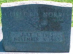 NORRIS, CLIFFORD - Ringgold County, Iowa | CLIFFORD NORRIS