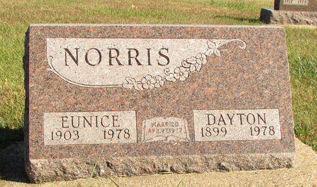 NORRIS, DAYTON - Ringgold County, Iowa   DAYTON NORRIS