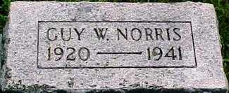 NORRIS, GUY W. - Ringgold County, Iowa   GUY W. NORRIS