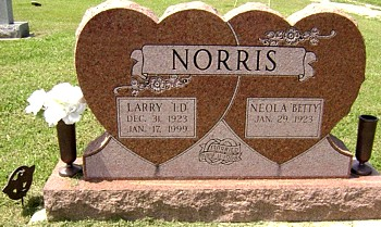 NORRIS, LAWRENCE DEE