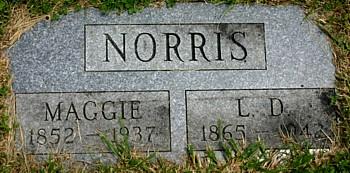 NORRIS, L. D. [LORENZO DOW