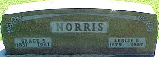 SCONCE NORRIS, GRACE - Ringgold County, Iowa | GRACE SCONCE NORRIS