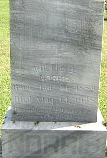 NORRIS, MOLLIE J. - Ringgold County, Iowa | MOLLIE J. NORRIS