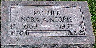 HUDSON NORRIS, NORA A. - Ringgold County, Iowa | NORA A. HUDSON NORRIS