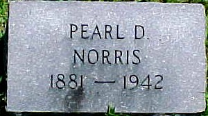 NORRIS, PEARL DUDLEY (STUART) - Ringgold County, Iowa | PEARL DUDLEY (STUART) NORRIS