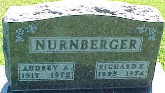 NURNBERGER, RICHARD K. - Ringgold County, Iowa   RICHARD K. NURNBERGER