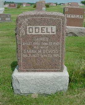 O'DELL, SARAH M. - Ringgold County, Iowa | SARAH M. O'DELL