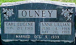 OLNEY, CARL EUGENE - Ringgold County, Iowa | CARL EUGENE OLNEY