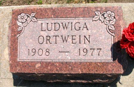 ORTWEIN, LUDWIGA - Ringgold County, Iowa   LUDWIGA ORTWEIN