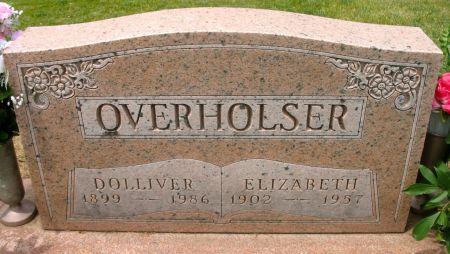 OVERHOLSER, ELIZABETH - Ringgold County, Iowa   ELIZABETH OVERHOLSER