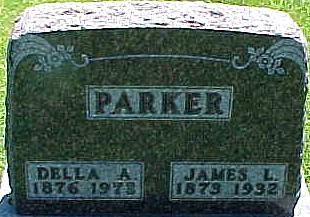 OLIVER PARKER, DELLA ANGELLA - Ringgold County, Iowa | DELLA ANGELLA OLIVER PARKER