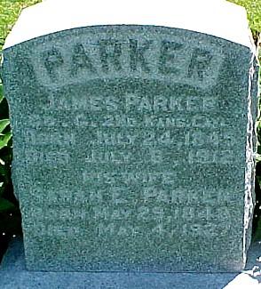 NORRIS PARKER, SARAH ELIZABETH - Ringgold County, Iowa | SARAH ELIZABETH NORRIS PARKER