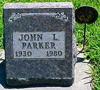PARKER, JOHN L. - Ringgold County, Iowa   JOHN L. PARKER