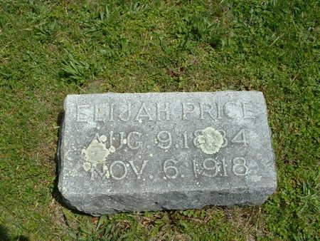 PRICE, ELIJAH - Ringgold County, Iowa | ELIJAH PRICE